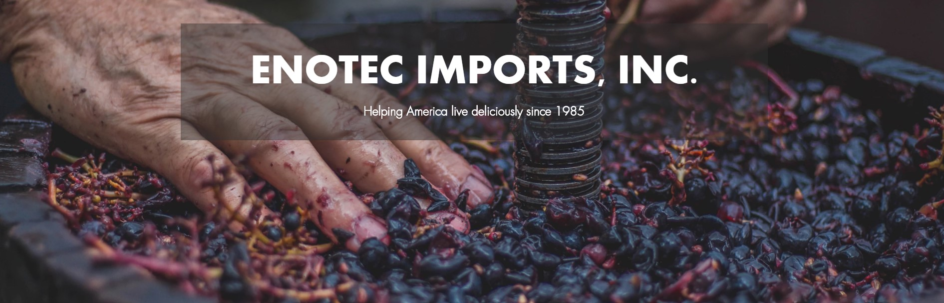 Sip Fine Wine to Support Your Community with Enotech Imports