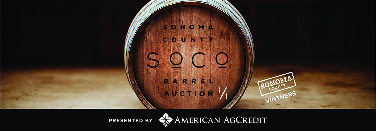 2020 Sonoma County Barrel Auction — Opens June 16, 2020