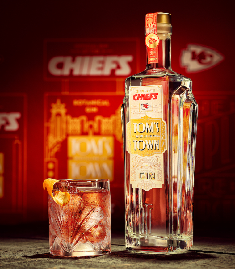 Tom's Town – Official Gin of Kansas City Chiefs